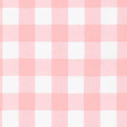 Carolina Gingham - 1 Gingham Check - 43 Wide - Petal Pink