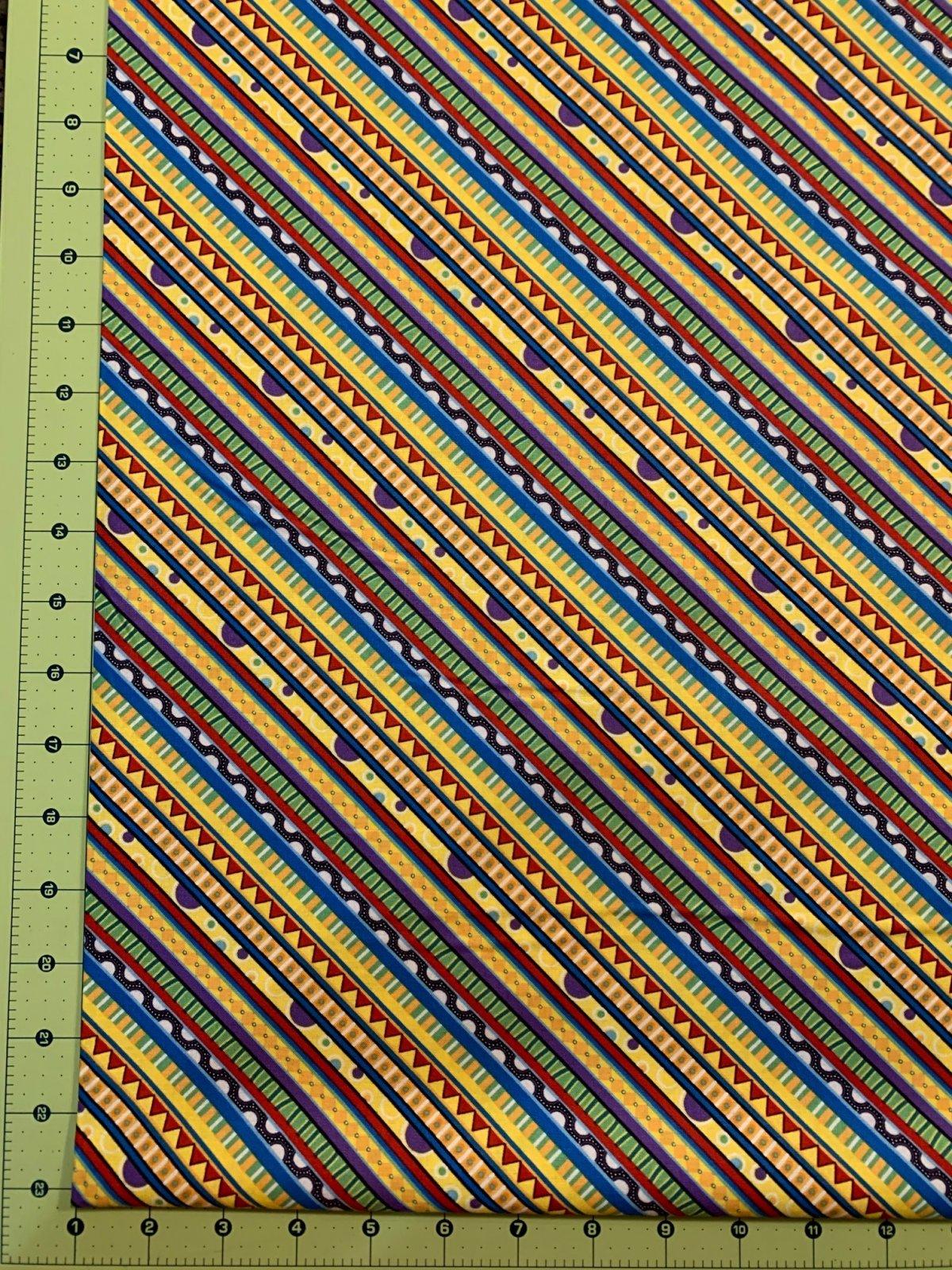 Catmoshere - Diagonal Stripe - Yellow