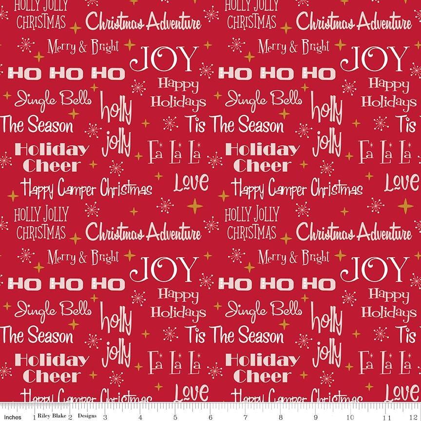 Christmas Adventure - Phrases - Scarlet