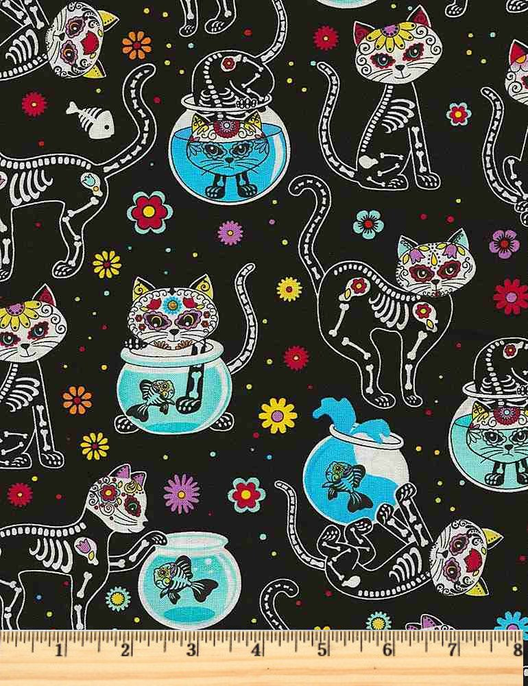 Crazy for Cats - Skeltons and Fish Bowls