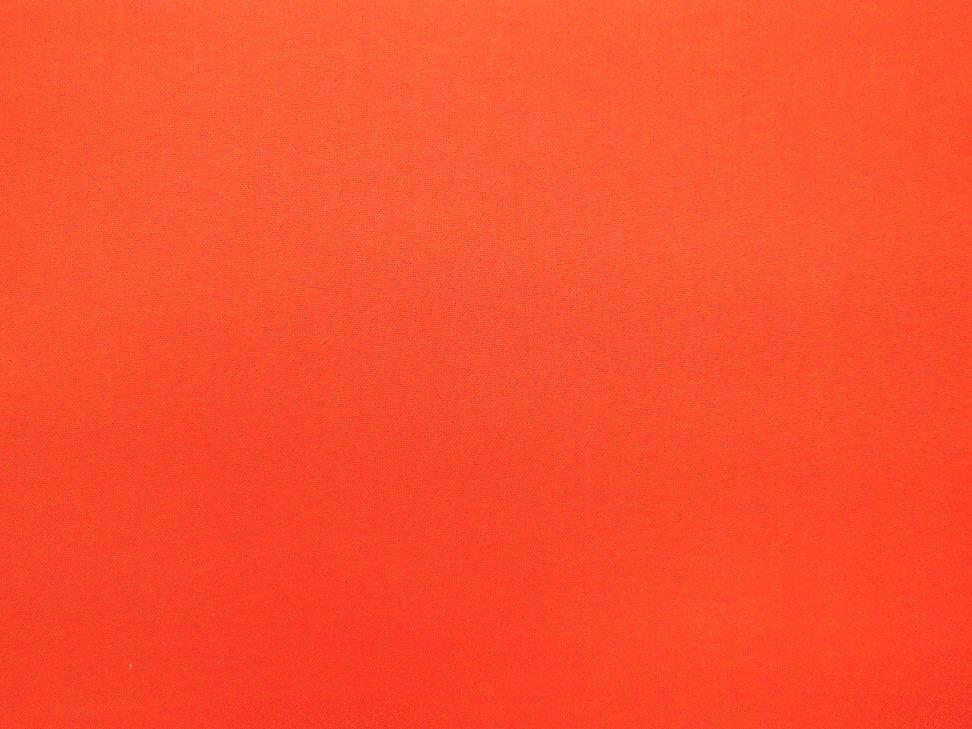 Solid 45 Cotton - Autumn Orange