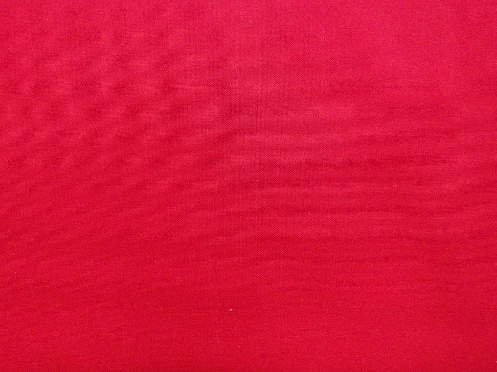 108 inch wide Solid - Poppy Red - 100% Cotton