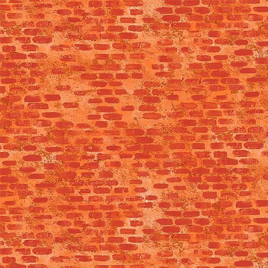 Diggers and Dumpers - Brickwork - Orange