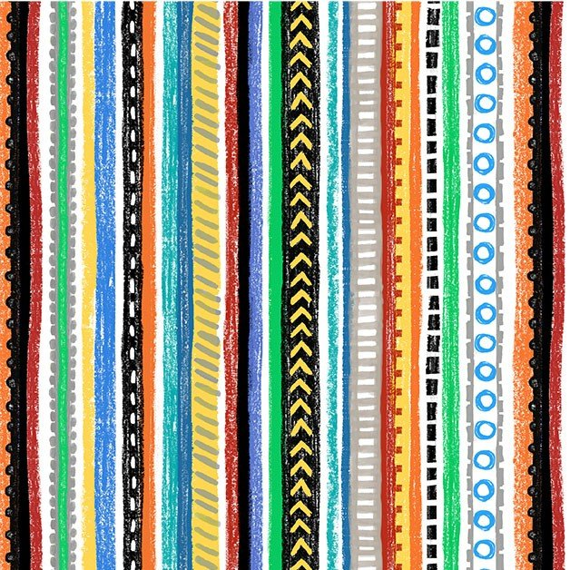 Diggers and Dumpers - Roadways - Multi Stripe