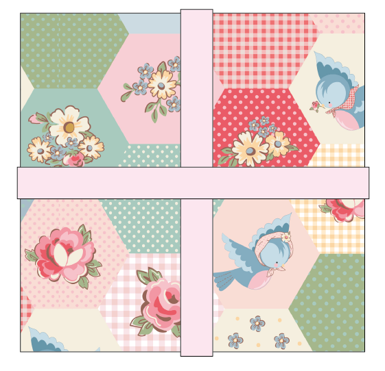 Dots & Posies 5 Stacker