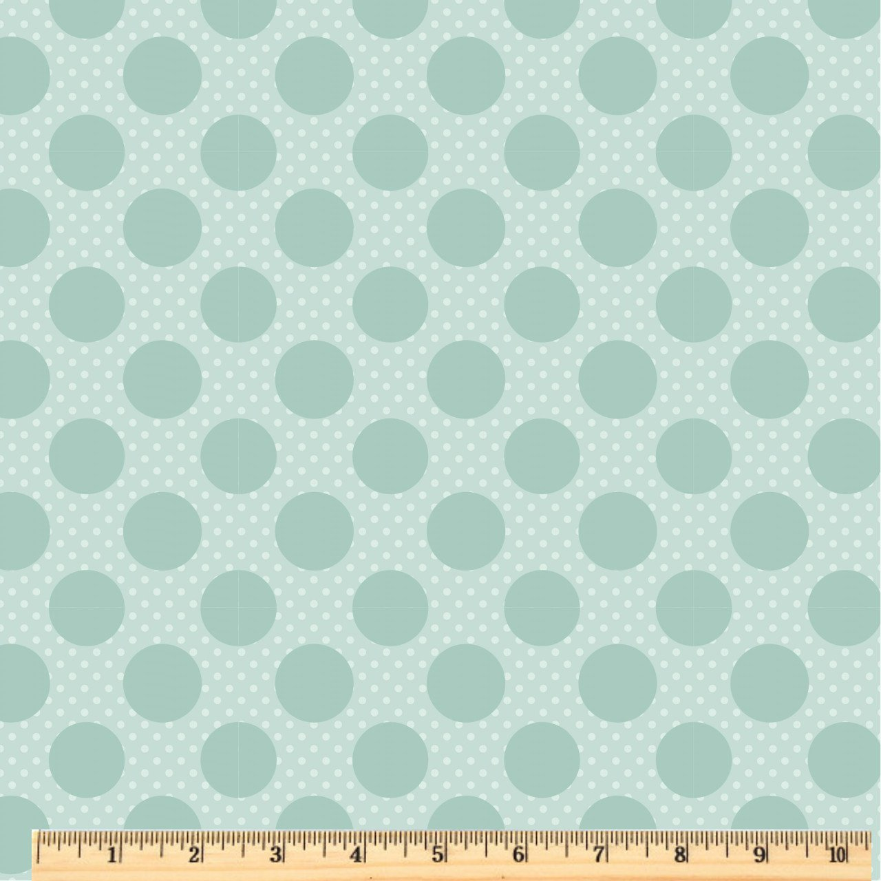 Dots & Posies - Dots on Dots - Teal