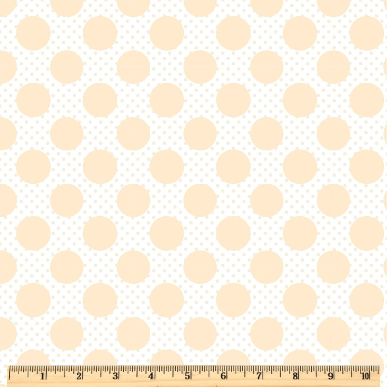 Dots & Posies - Dots on Dots - White