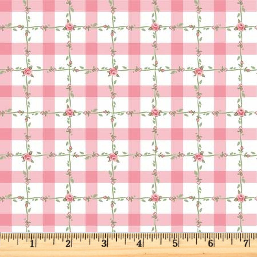 Dots & Posies - Criss Cross Applesauce - Pink