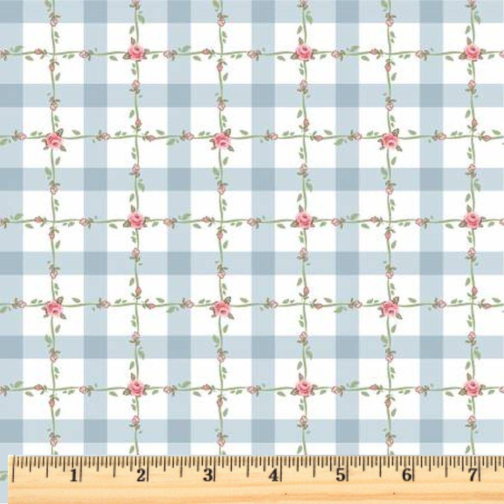 Dots & Posies - Criss Cross Applesauce - Blue