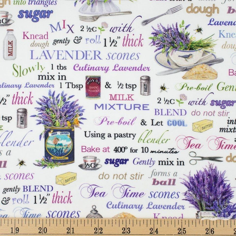Everyday Favorites - Lavender - Recipes