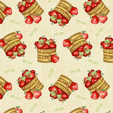 Farm Raised - Apple Basket - Cream