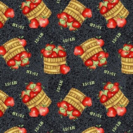 Farm Raised - Apple Basket - Black