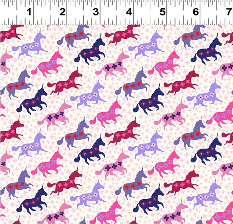 Forever Magic - Galloping Unicorns - Purple
