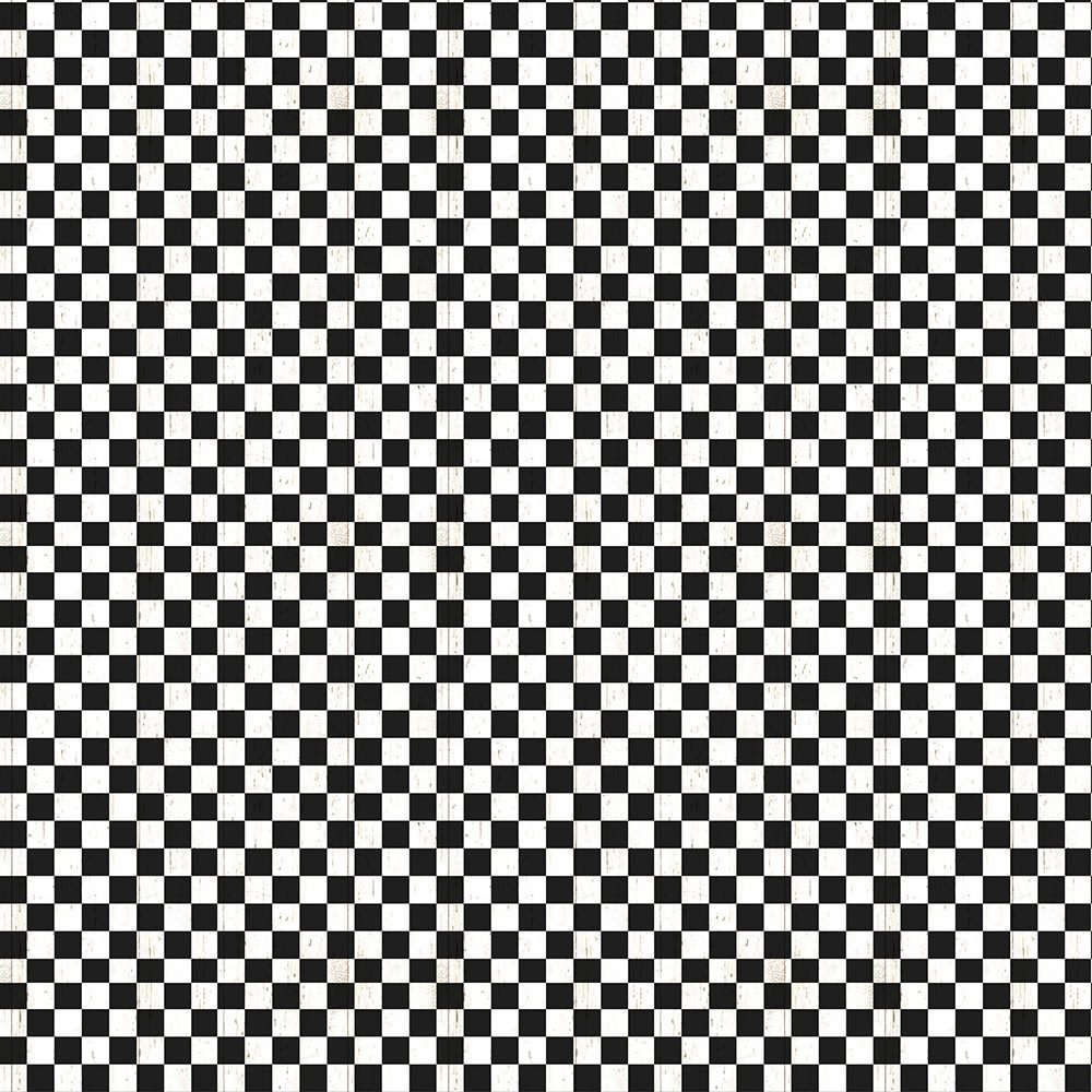 Free Range Fresh - Black and White Check