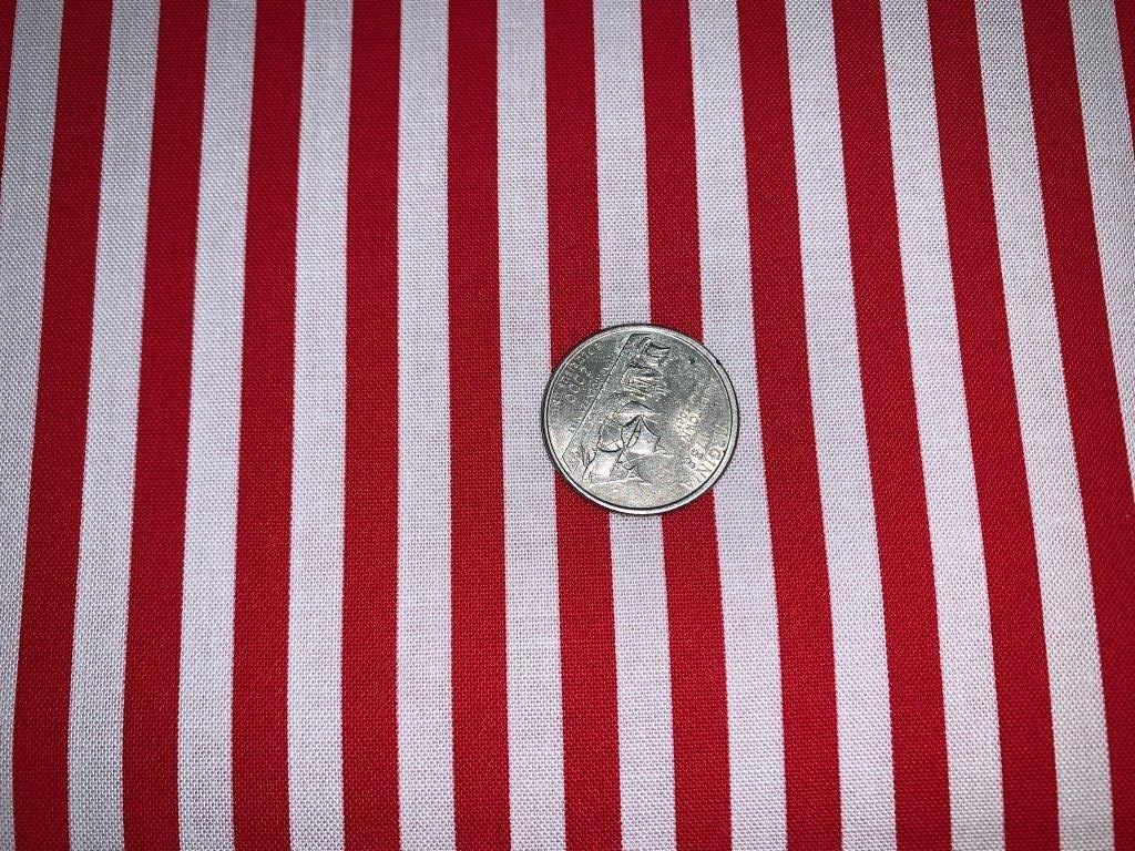 Clown Stripe - Red & White  - CX3584-REDX-WHIT-D