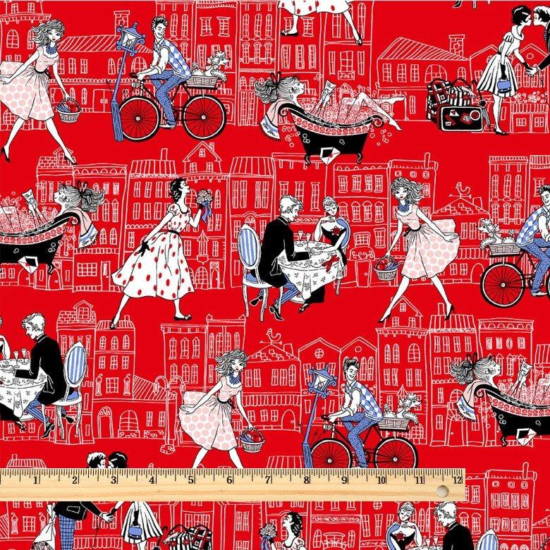 Joie de Vivre - Rue Saint Honore - Red