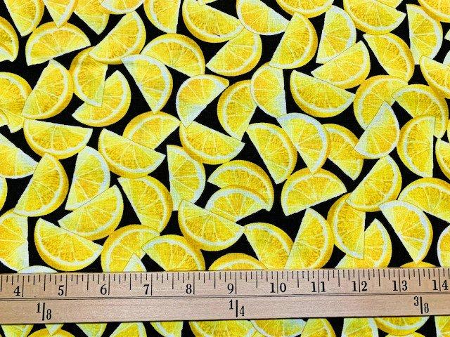Lemon Fresh - Lemon Wedges - Black