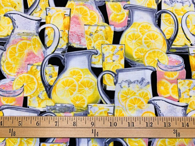 Lemon Fresh - Thirst Quencher - Black