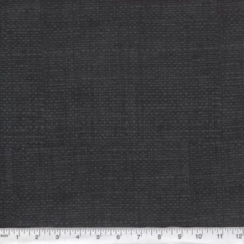 Burlap Print Blender - Black