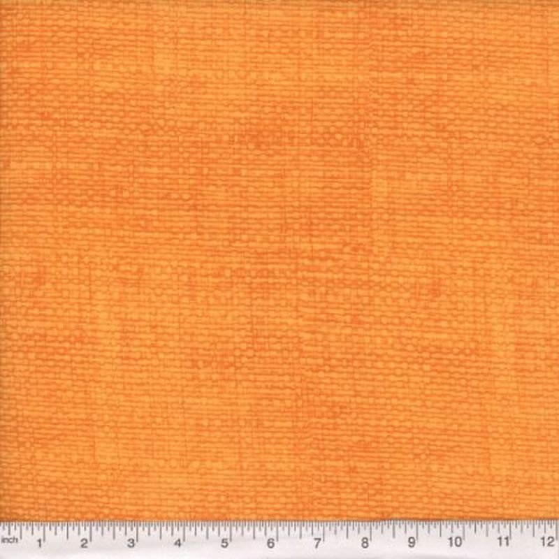 Burlap Print Blender - Orange