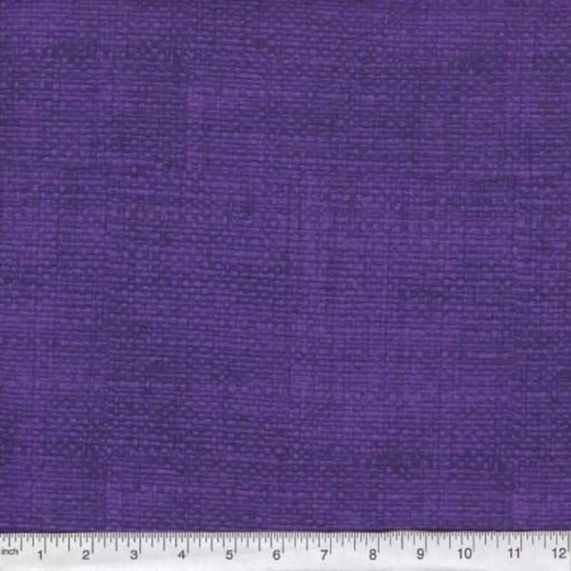 Burlap Print Blender - Purple