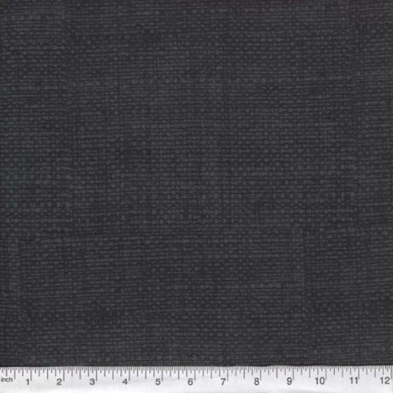 Burlap Print Blender - Steel Grey