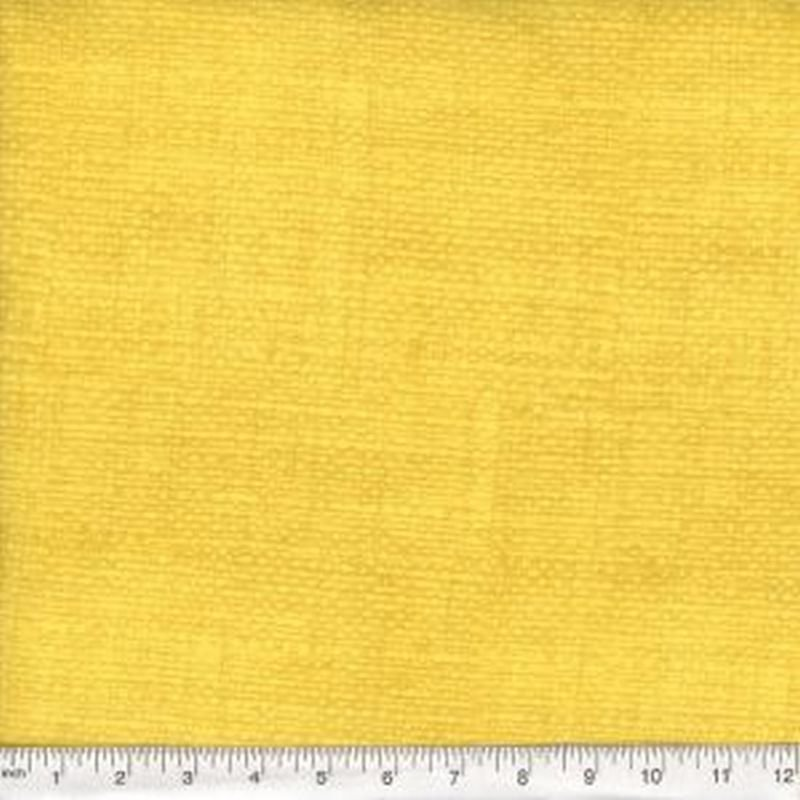 Burlap Print Blender - Yellow