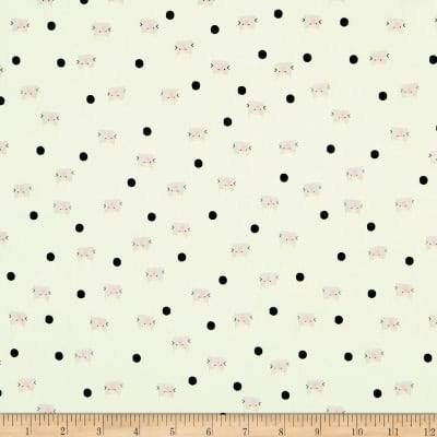 Meow and Forever - Dots - Mint