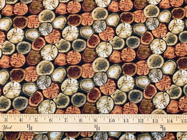 Nature Walk - Rustic Logs - Chestnut