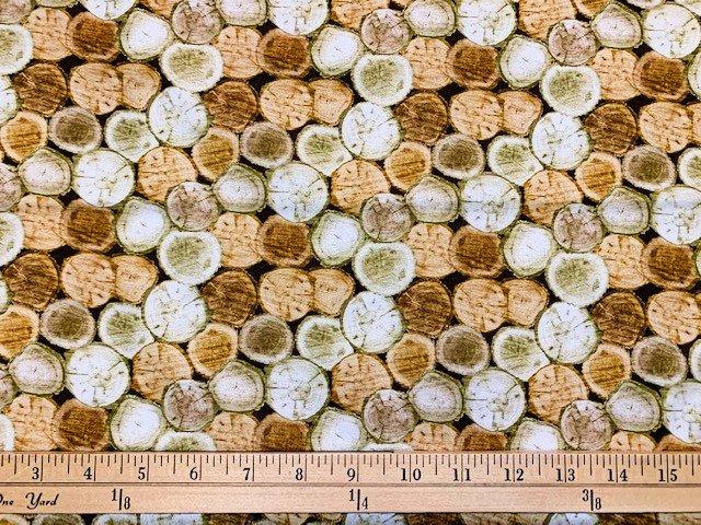 Nature Walk - Rustic Logs - Light Oak