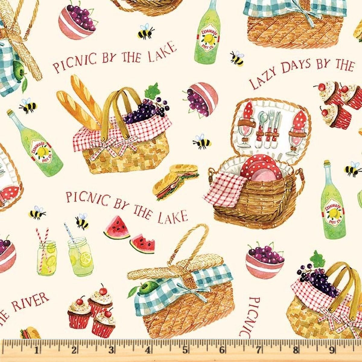 Picnic By The Lake - Lazy Days - Cream