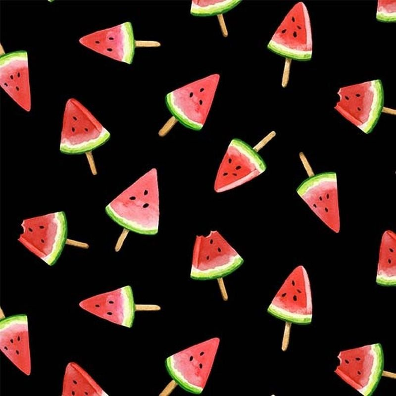 Picnic By The Lake - Watermelon Lollies - Black