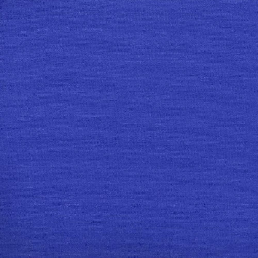 Poly/Cotton - Solid - Royal -  60 inches wide