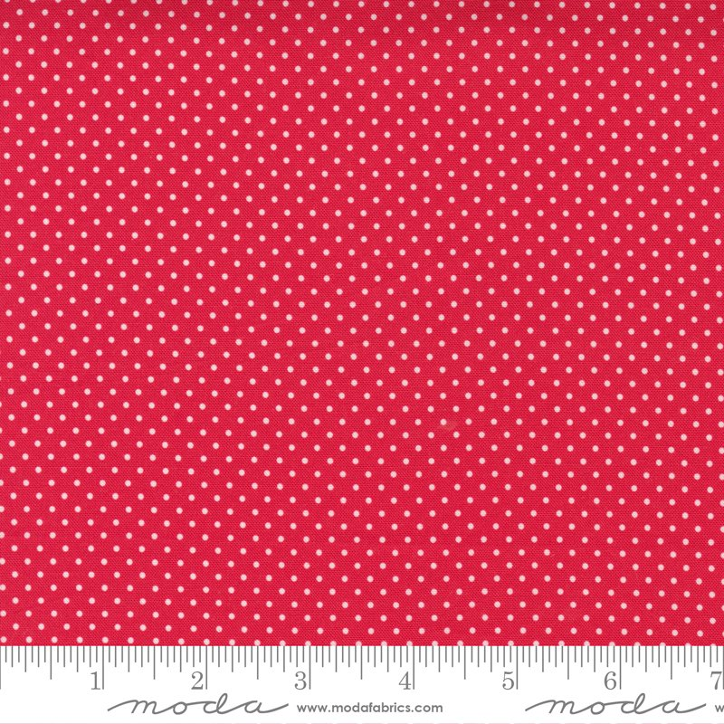 Holiday Essentials - Polka Dot - Red