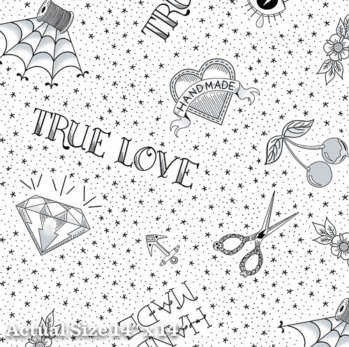 True Love - Flash - White
