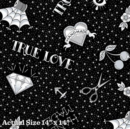 True Love - Flash - Black