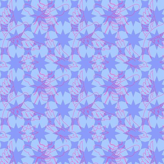 76 - Flourish - Periwinkle