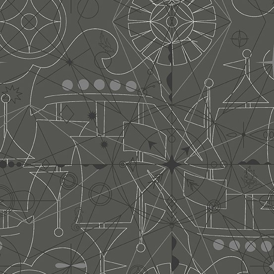 Sun Print 2018 - Compass - Inky