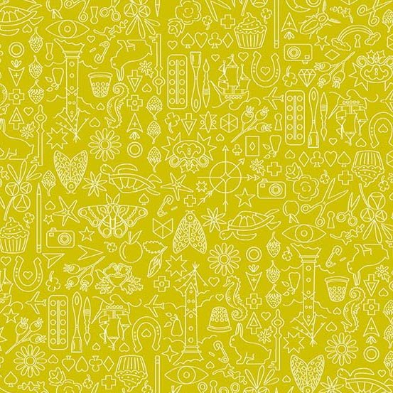 Sun Print 2019 - Collection - Chartreuse
