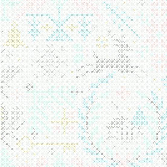 Holiday - Crossed - Snowflake