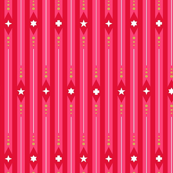 Holiday - Ribbon - Peppermint