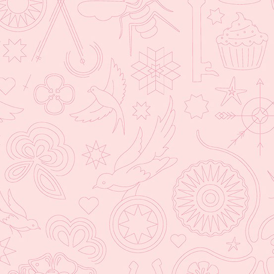 Handiwork - Embroidery -Ballet Slipper