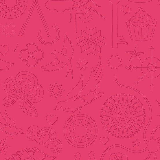 Sun Print 2020 - Embroidery - Strawberry