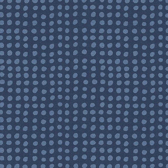 Almost Blue - Dot - Indigo