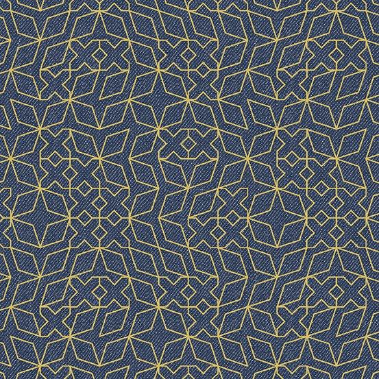 Almost Blue - Stitch - Indigo Metallic