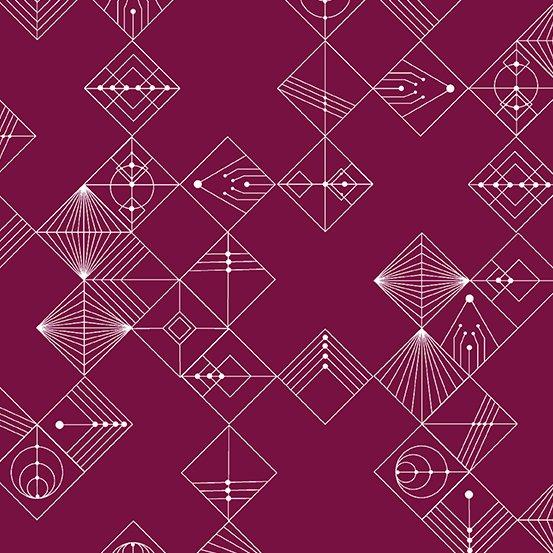 Deco - Tiles - Mulberry