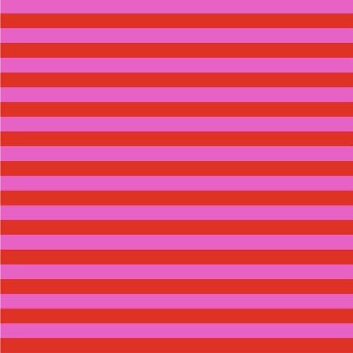 All Stars - Tent Stripe - Peony