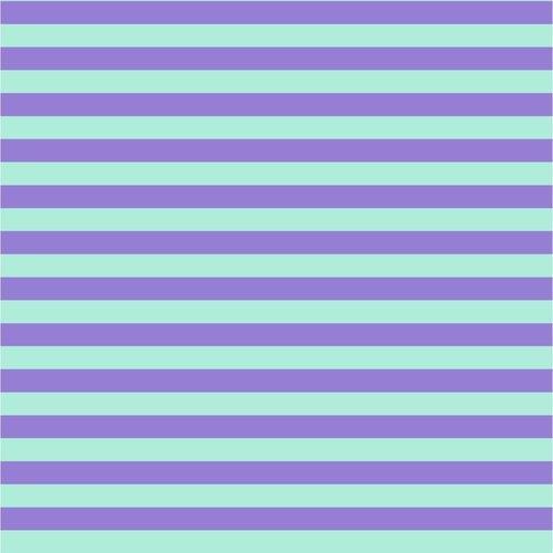 All Stars - Tent Stripe - Petunia