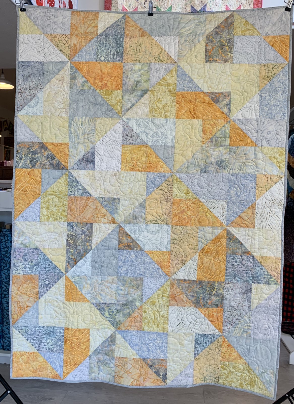 By The Sea Shore Lap Quilt