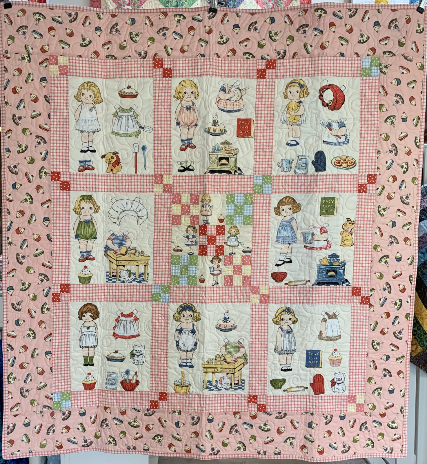 Paper Doll Baker Quilt